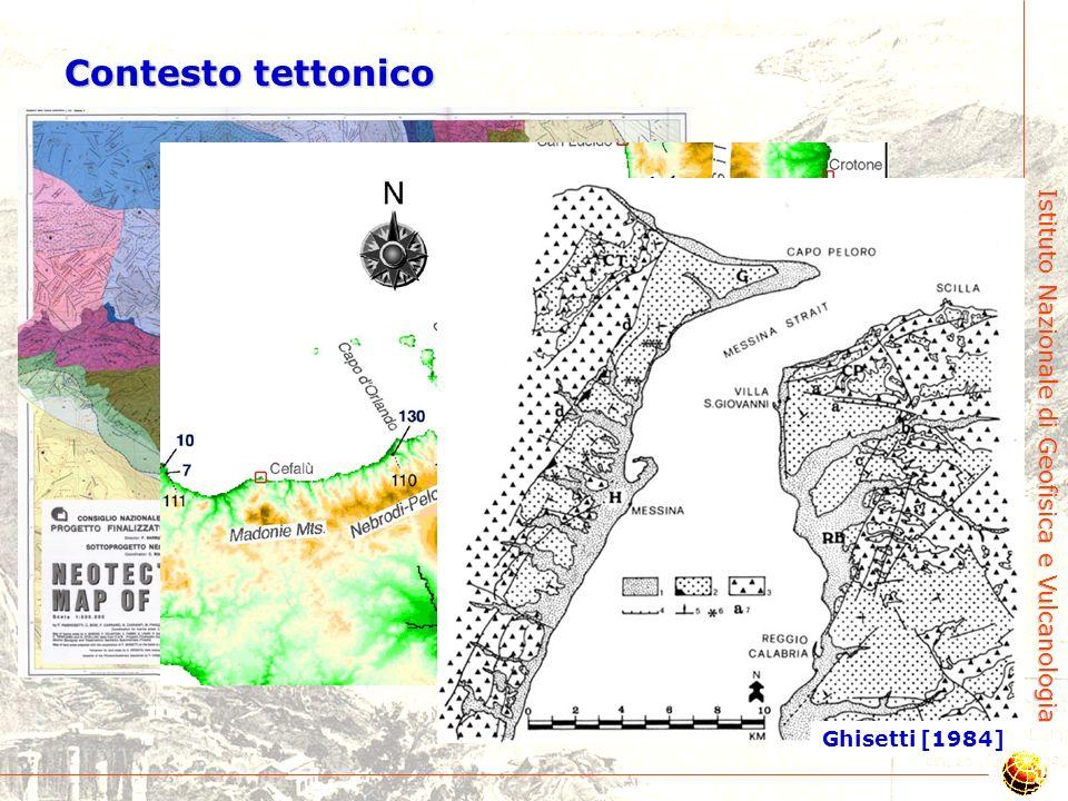 Contesto tettonico Bordoni & Valensise [1998] Ghisetti [1984]